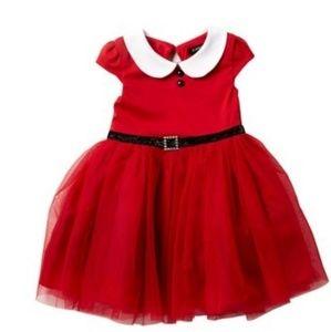 Santa Toddler Dress